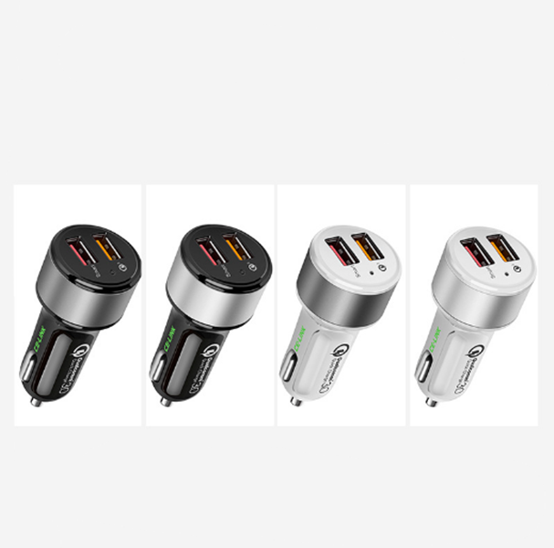 Aluminum Alloy Automobile Charger