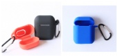 Silicone Airpods Case Portable with Carabiner