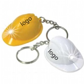 Mini Hard hat  LED key ring  light