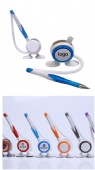 Logo Ballpoint Counter Table Pen with Holder