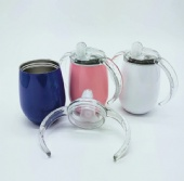 Stainless Steel Vacuum Double Handle Mug